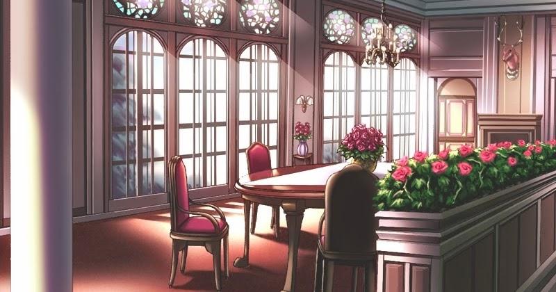 Anime Landscape Dining Hall Anime Background
